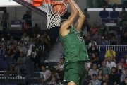 (3) EJ Jarvis, of the Maret School, slams one home during the 2016 Culligan City of Palms Classic